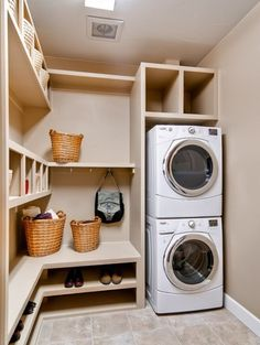 If you have a utility room already, whether or not you use for doing the laundry, it is likely to be a place where you temporarily store junk. Like garages