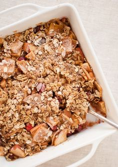 Apple Cranberry Crisp | 28 Ways To Eat Apples This Fall