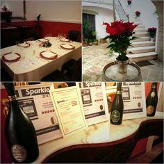 Siamo pronti per la cena #baccalà &  #quindicisfere palazzo #dAraprì