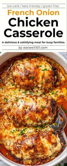 Diet Recipes, Cooking Recipes, Healthy Recipes, Simple Recipes, Dessert Recipes, Healthy Casserole Recipes, Keto Crockpot Recipes, Cooking Pork, Gastronomia