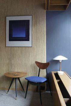 Modern wall art & chair
