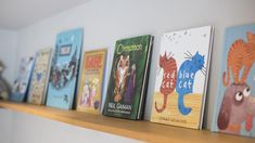 Great book selection for story time at Eadric House, a luxury self-catering holiday home in Devon #storytime #books #childrensbooks #reading #fun #holidays #selfcatering