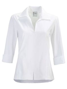Women S Fashion For 40 Year Olds Refferal: 1328208399 Indian Clothes Online, Fancy Tops, Indian Blouse, Yellow Lace, Tees For Women, Women's Summer Fashion, Women's Fashion, White Shirts, Classic White