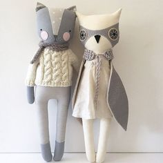Muñecas de trapo bonitas hechas a mano                                                                                                                                                                                 Más