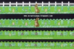 Easter Borders with Creative Memories Border Maker System and Filmstrip Cartridge made by CM advisor Candace Bouldin #ScrapinJpegs #CandaceBouldin #CreativeMemories