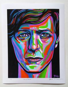Hey, I found this really awesome Etsy listing at https://www.etsy.com/listing/266547218/david-bowie-11-x-14-bordered-archival