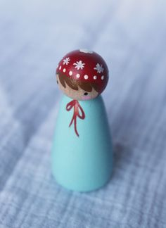 favorite peg doll from Peg and Plum