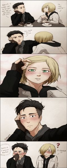 Yuri Plisetsky | Otabek Altin | Yuri on Ice | YOI