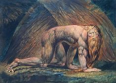 Nabuchodonosor, par William Blake