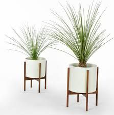 Image result for mid century modern plant stand