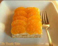 The Brunette Baker: Mandarin Orange Dessert Squares