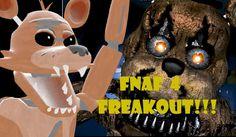 [SFM] FNAF - Dare #7 | FNAF 4 FREAKOUT!!!