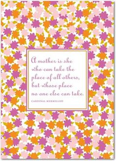 Matchless Mom - Mother's Day Greeting Cards - Design Collective - Cupcake - Pink : Front