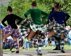 On the right - kilt with royal blue jacket and gold trim from the back Sport Kilt, Irish Redhead, Scottish Highland Dance, Sword Dance, Dance Dreams, Man Skirt, Highland Games, Dance With You, Scottish Tartans