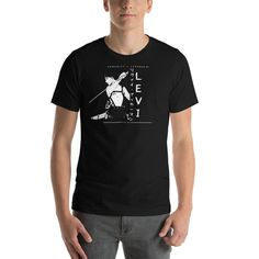 Tokyo Ghoul Shirt, Titans Anime, Attack On Titan Levi, Prism Color, Ash Color, Levi Ackerman, Fabric Weights, Tees, Mens Tops
