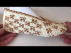 Tunisian Crochet Stitches, Knitted Slippers, Needlework, Coin Purse, Make It Yourself, Knitting, Creative, Blog, Crafts