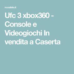 Ufc 3 xbox360 - Console e Videogiochi In vendita a Caserta