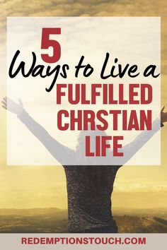 5 Ways to Live a Fulfilled Christian Life Christian Post, Christian Women, Christian Living, Christian Quotes, Seeking God, Women Of Faith, Christian Encouragement, Godly Woman, Christian Inspiration
