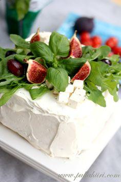 Pullahiiren leivontanurkka: Voileipäkakut Pesto, Cheesecake, Desserts, Food, Deserts, Cheese Cakes, Dessert, Meals, Cheesecakes