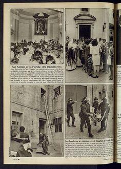 1988 Bomberos entrenan Cuartel Conde Duque