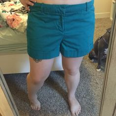 """Teal Mossimo Shorts Adorable real colored shorts; 5"""" inseam Mossimo Supply Co. Shorts"""