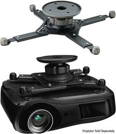 Projector Mounts and Stands: Omnimount 3N1-Pjt Black Universal Projector Ceiling Mount -> BUY IT NOW ONLY: $99 on eBay!