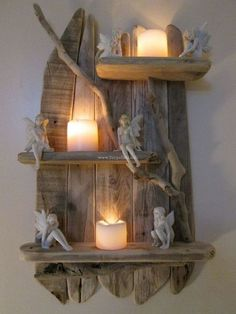 Wonderful Wooden Pallet Shelve Ideas