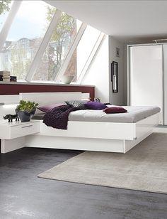 Schlafzimmer My Way | Elegant In Weiß U0026 Grau Bringt Das Moderne Schlafzimmer  Frischen Wind In