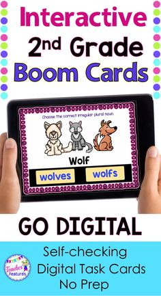 BOOM CARDS 2nd Grade | This self-checking, Boom Cards Digital Bundle focuses on: distinguishing long or short vowels, open syllables, closed syllables, prefixes, suffixes, and silent letters. Contains 18 common core-aligned 2nd grade Decks (571 cards) with movable Drag & Drop pieces and clickable answers. #boomcards #ela#boomcards2ndgrade #boomcardselementary #TeacherFeatures #phonics2ndgrade #grammar2ndgrade #TpT #backtoschool #digital