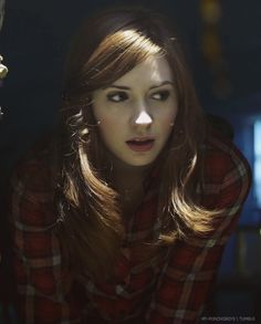 Karen Gillan busy being gorgeous