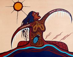 Astral Spiders, Dark Animism Spiders, Spider Goblins and Perception Altering Plants – Elder Mountain Dreaming Native American Symbols, Native American Artists, Canadian Artists, The Shadow Side, Native Canadian, Woodland Art, Jr Art, Indian Artist, Coastal Art