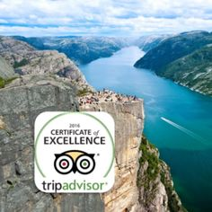 #Preikestolen just received TripAdvisor's Certificate of Excellence! #destinationryfylke #visitnorway #certificateofexcellence#fjordnorway #regionstavanger #norway #tripadvisor