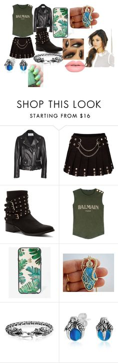 """How To Train Your Dragon Hiccup Girl Style"" by kookie45 ❤ liked on Polyvore featuring Acne Studios, Penny Loves Kenny, Balmain, Sonix, Bling Jewelry, Lime Crime and Essie"