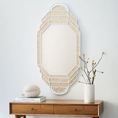 Peruvian Mirror - Elongated Octagon. , it instantly dresses up any wall space.