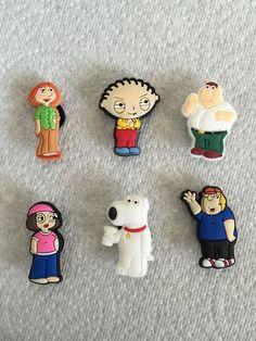 2 x Family Guy Stewie Croc Shoe Charms Jibbitz Crocs Wristbands Charm