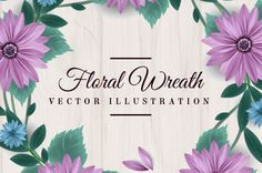 FREE Floral Wreath