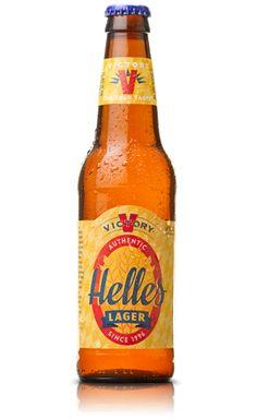 * Victory Helles Lager - Victory Brewing Company - Tastes vintage/retro