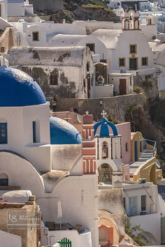 georgopoulos' photostream A typical neighborhood in Ia, Santorini Santorini, Taj Mahal, The Neighbourhood, Explore, Mansions, House Styles, Building, Travel, Colors