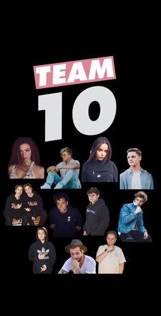 Team 10 wallpaper Jake Paul,Tessa Brooks, Erika Costell, Chance Sutton,Aj Mitchell,Chad Tepper