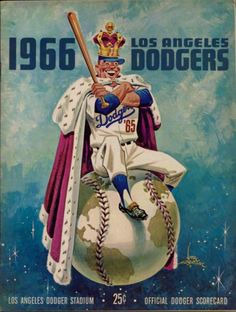 Ego was not a problem for the Dodgers going into the '66 season.