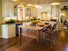 Kitchen of Madison model offered by David Cutler Group at Ridings of Warwick in Warwick Township, Bucks County, PA.
