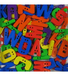 Favorite Findings Big Bag of Buttons - Alphabet & craft & packs of buttons at Joann.com $5.99