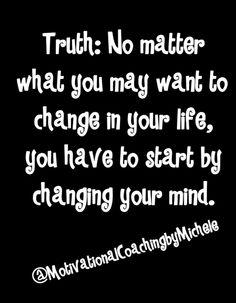 Mind over matter!
