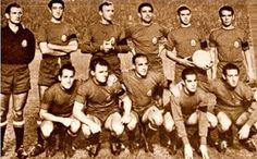EQUIPOS DE FÚTBOL: SELECCIÓN DE ESPAÑA 1958-59