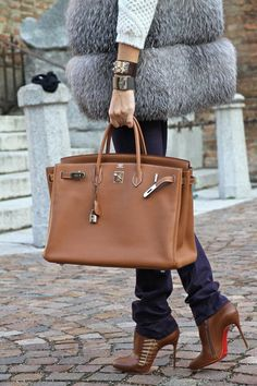The Hermes Birkin - Brown on Pinterest | Hermes Birkin, Hermes and ...