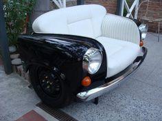 ¿Sofá o coche?