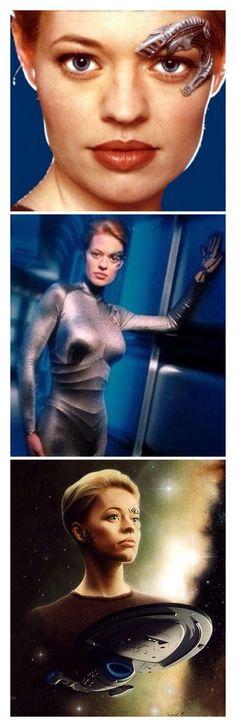 Star Trek Voyager - Seven of Nine (Jeri Ryan) Wallpaper.