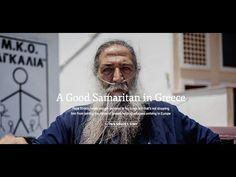 A video from UNHCR for The Good Samaritan in Lesvos island. Help Refugees, Good Samaritan, Help Needed, Faith In Humanity, Priest, Mai, Greece, Feels, Community