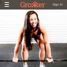 No gym? No excuse. @grokkerinc has tons of great #athomeworkouts that will kick your butt.