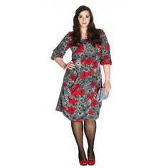 Stijlvolle asymmetrische jurk - XL (PDF) | Knipmode